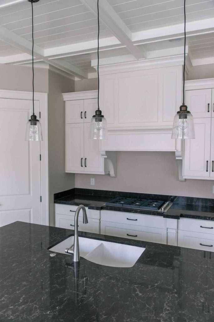 White Kitchen Range