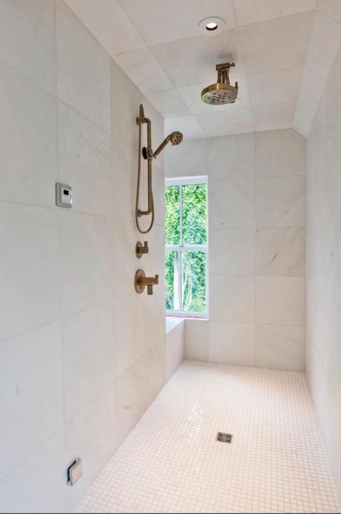 Master Shower Walls